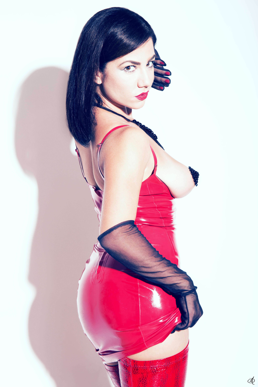 2 mistresses ballbusting a muscular bodybuilder slave femdom tied up 4