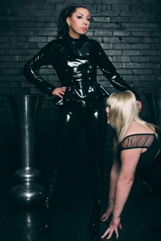 latex and rubber mistress in london