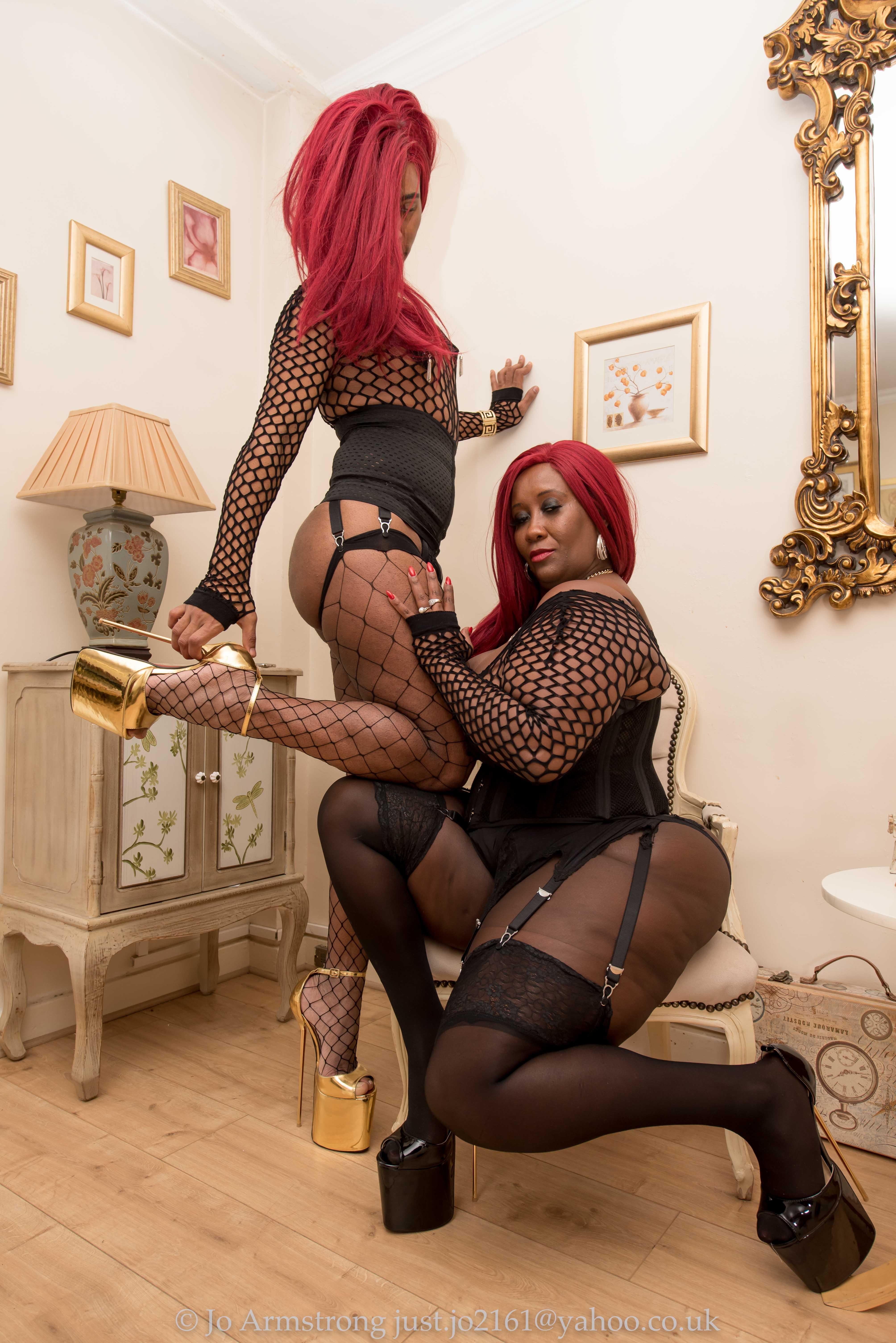 Spanking submissive men femdom