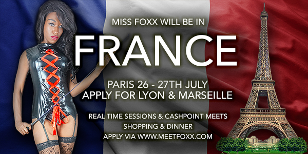 Miss Foxx in Paris and France