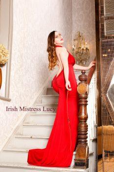 Irish Mistress Lucy visiting London