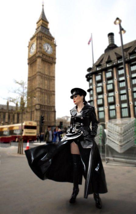 rubber mistress london