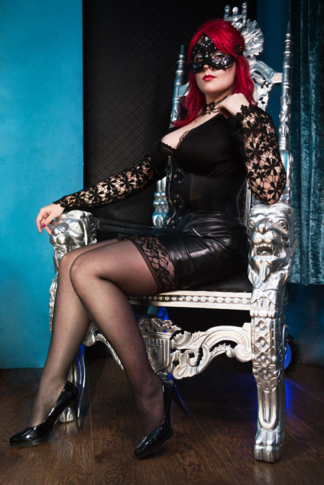 London Dominatrix Mistress Anne Tittou